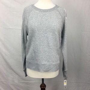 Calvin Klein Gray Crew Neck Pullover